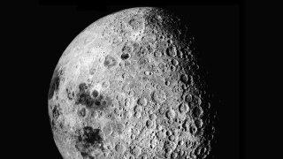 کره ماه در رصد ستارگان کویر یزد