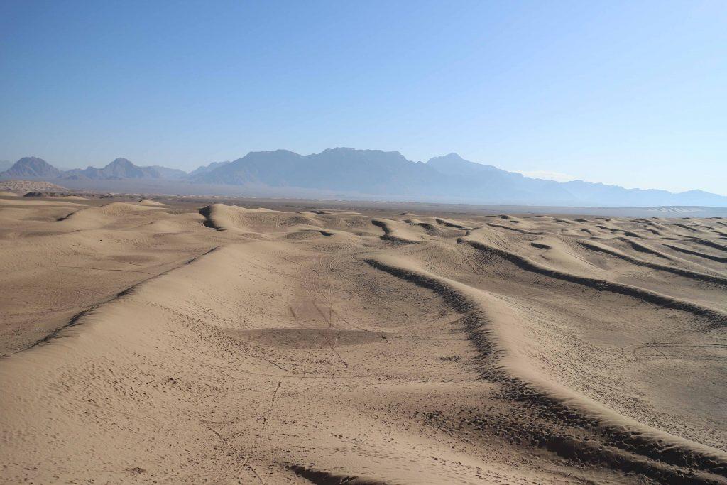 Stay overnight in Yazd desert